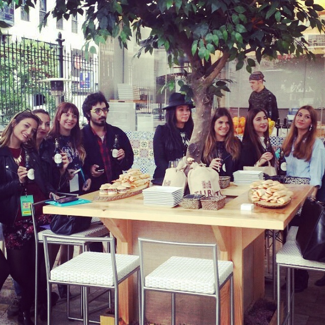 Brunch de Bloggers oficiales Valencia Shopening Night 2014